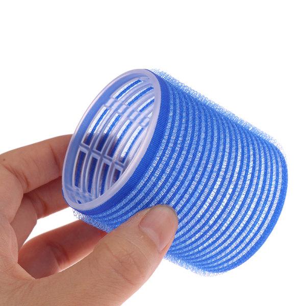 6st självhäftande hårrullar DIY magiska hårrullar självhåll grepp L