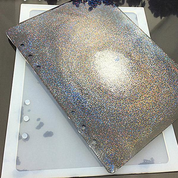 A7 / A6 / A5 anteckningsbok form silikon form DIY harts bok mögel gråter