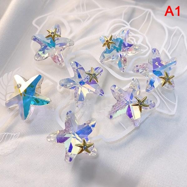 AB Crystal 3D Nail Art Rhinestone Decorations
