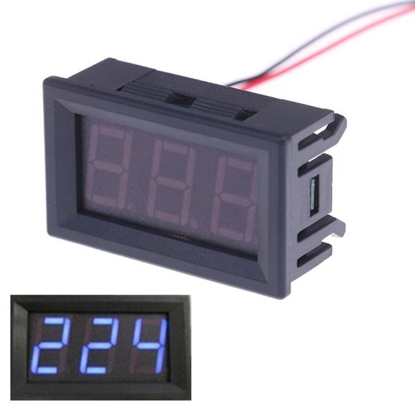 AC 70-500V digital voltmeter LED-display 2-ledars spänning te
