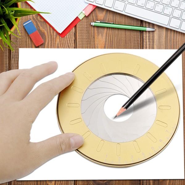 Justerbart cirkeldragningsverktyg Rostfritt stål Compas School Ru