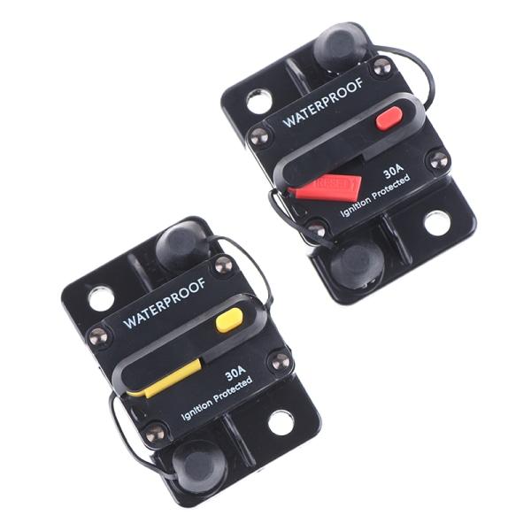 amp strömbrytare säkring återställ 12-42v dc bilbåt auto vattenproo A2