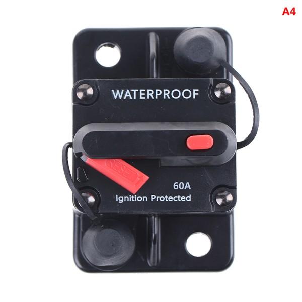 amp strömbrytare säkring återställ 12-42v dc bilbåt auto vattenproo A4