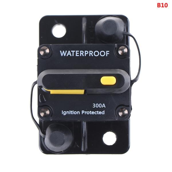 amp strömbrytare säkring återställ 12-42v dc bilbåt auto vattenproo B10