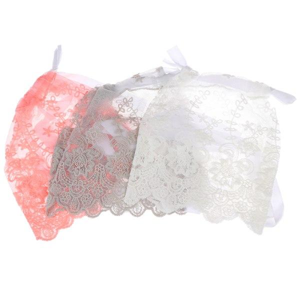 baby spets hatt baby mössa spädbarn sommar nyfödda fotografi rekvisita n White