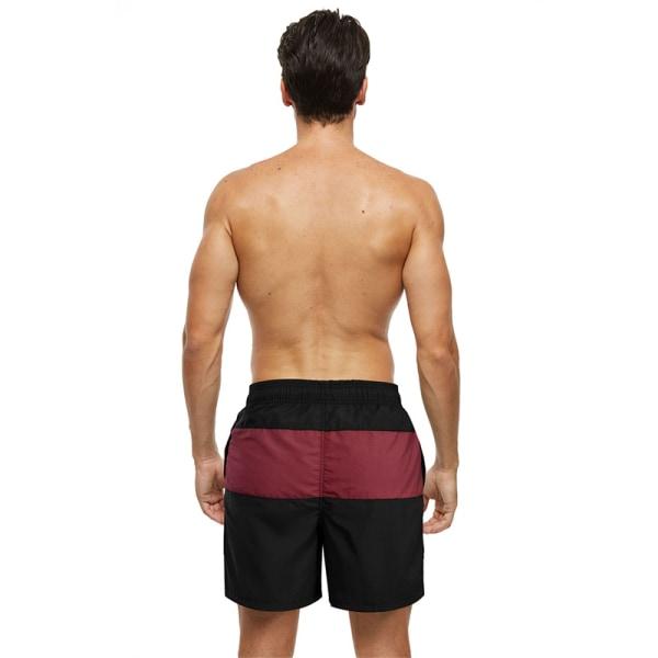 badbyxor badkläder män snabbtorkande byxor badstrand E 3XL