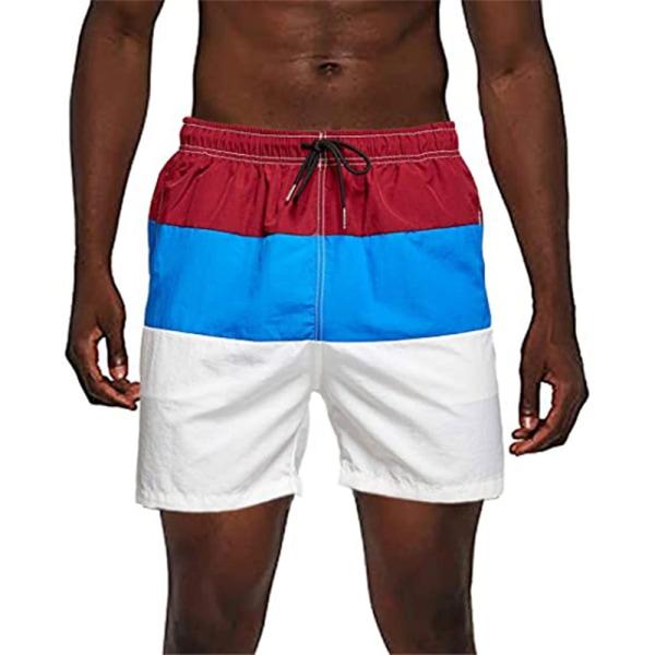 badbyxor badkläder män snabbtorkande byxor badstrand C XL