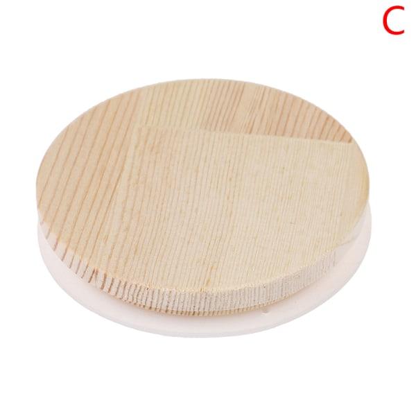 bambu murare burk förvaring konserveringslock dricka kopp täcker återanvändning C