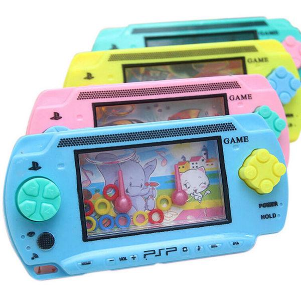 barn rolig vatten konsol spel leksak gåva närvarande färgglada för