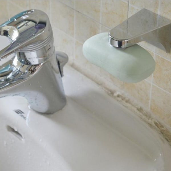 Badrumsmagnetisk tvålförvaringshållare Tvålbehållarväggfäst