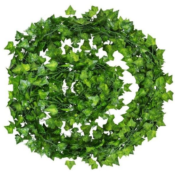 Bästa konstgjorda murgröna efterföljande vinstockar falska lövverk blomma hängande L