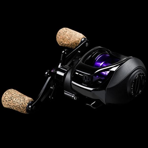 BK2000 Baitcasting Reel 7.2: 1 Utväxlingsförhållande 5.5KG Max dragfiske