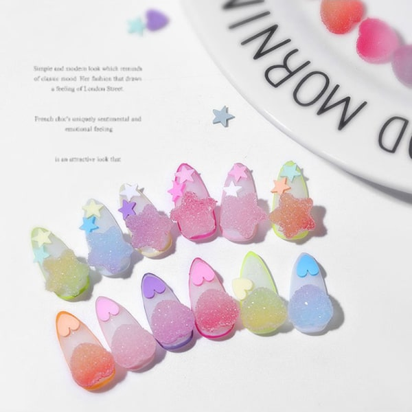 Candy Soft Sweets Nail Art Decorations Jelly Sugar Soft Lovely