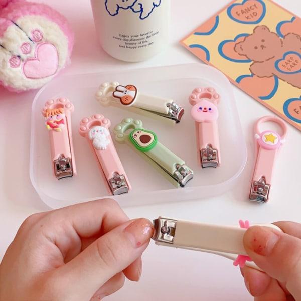 Cartoon rostfritt stål nagelklippare Trimmer söt frukt nagelcl