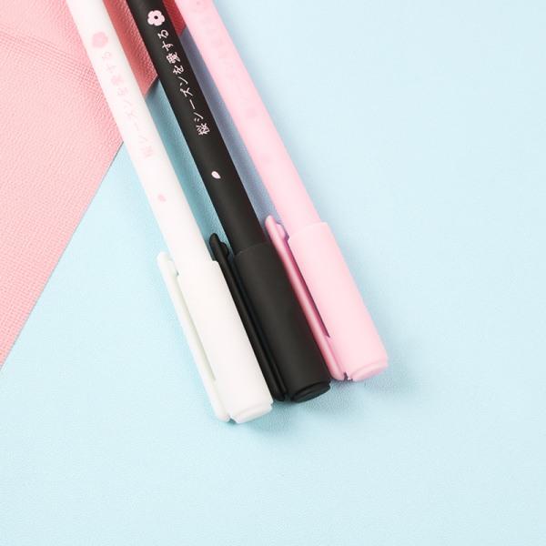 körsbärsblom neutral penna gåva bunden företag signatur penna gif