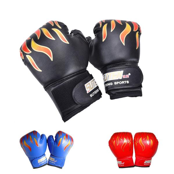 Barn Barn FIRE Boxhandskar Sparring Punching Fight Traini
