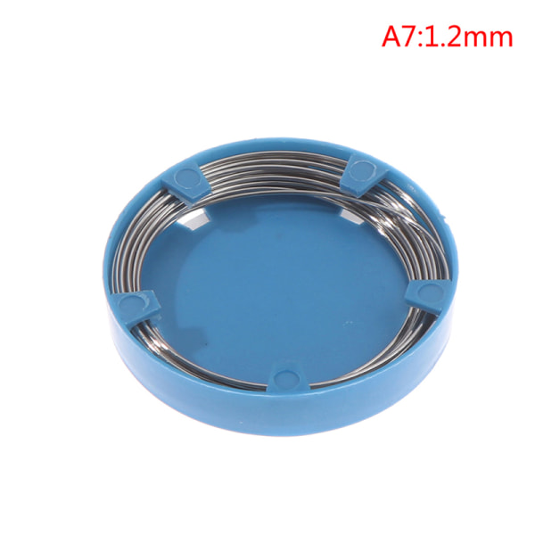 Dental SS Wire 0.5 / 0.6 / 0.7 / 0.8 / 0.9 / 1.0 / 1.2 / 1.4 / 1.6 / 1.8mm Orthod