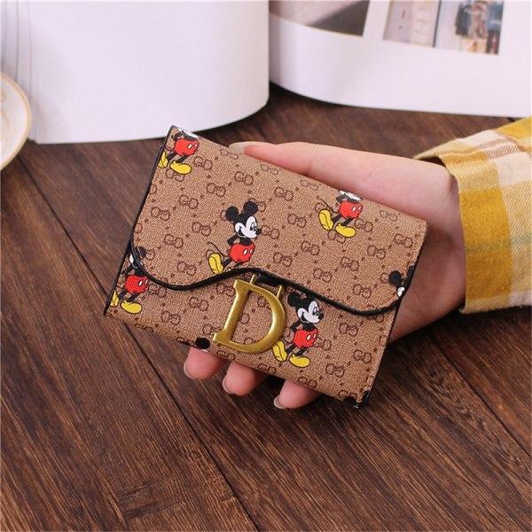 Disney Cartoon Mickey Wallet Children MiniCoin Purse Fashion Cut
