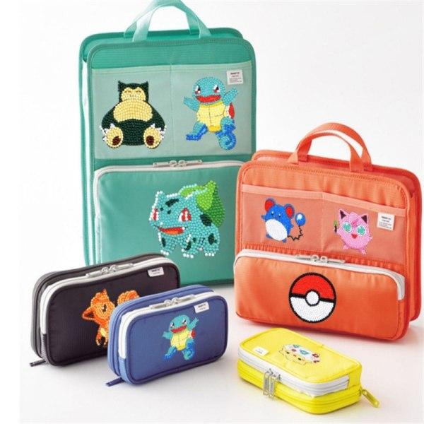 Easy Diamond Painting Cartoon Sticker Kits för barn 5D DIY Diamo