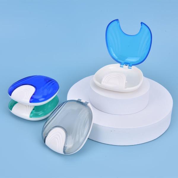 falsk rengöringslåda tandprotesbadhållare Green
