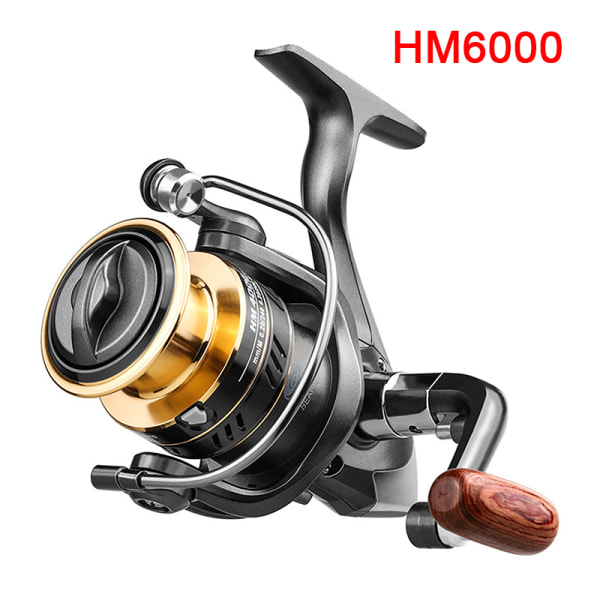 Fiskrulle NY HM1000-7000 Snurrrulle 8 kg Max Drag Reel Fis