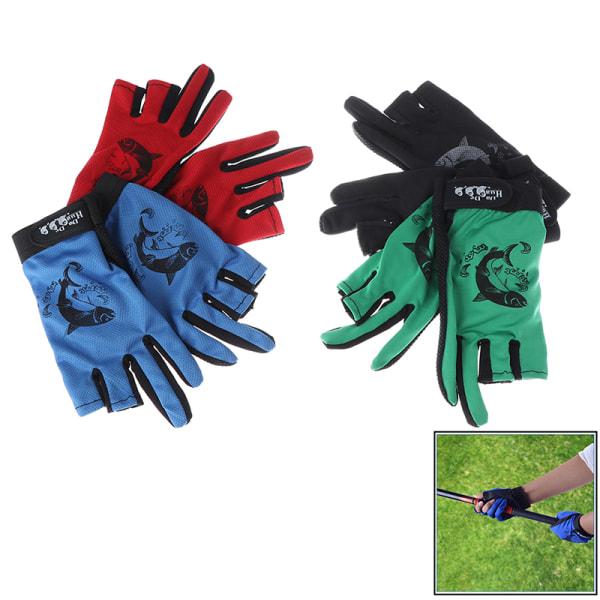 fiskehandskar halkskydd handskar fiskutrustning utomhus sport wa Black