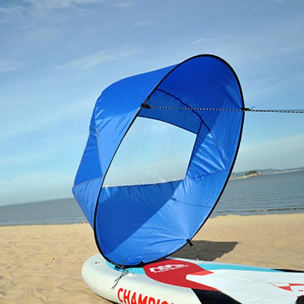 Hopfällbar kajakbåt Wind Sail Sup Paddle Board Sailing Canoe st