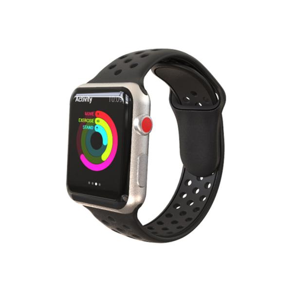 För Apple Watch Series 6 SE 5 4 3 44/42/40/38 MM SILICONE Sport