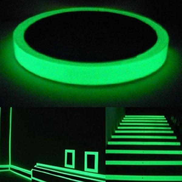 Glow In The Dark Sticker Tape Luminous Fluorescent Night Safety