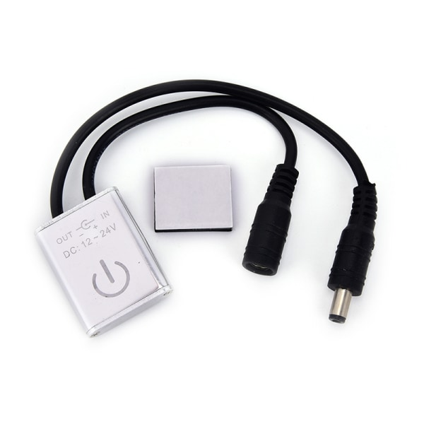 IR-rörelseomkopplare Silverbelysning Garderobskåp Sensorlampa C
