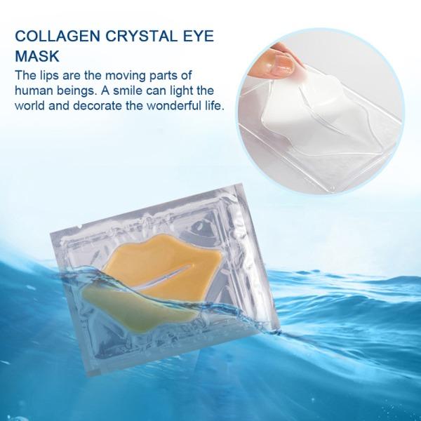 kristallkollagen anti-aging rynkplatta läppar masker varaktiga mois E
