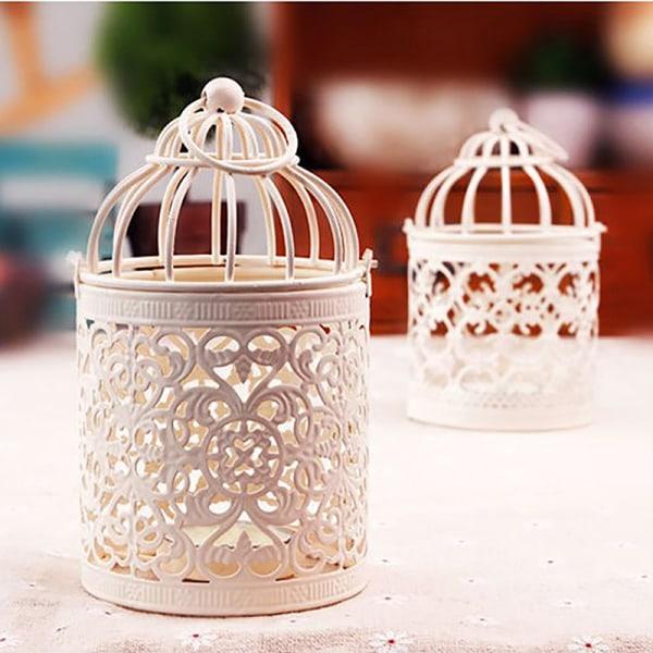 lantern votive ljusstake hängande lantern vintage ljusstake B