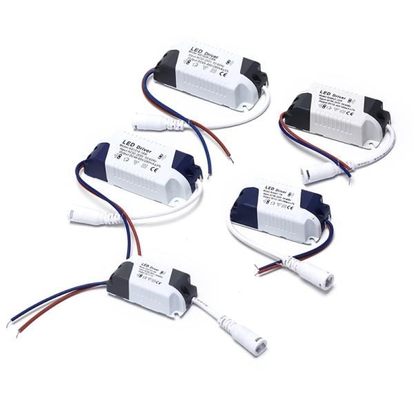 LED-drivrutin LED-lampa transformator nätadapter för LED l
