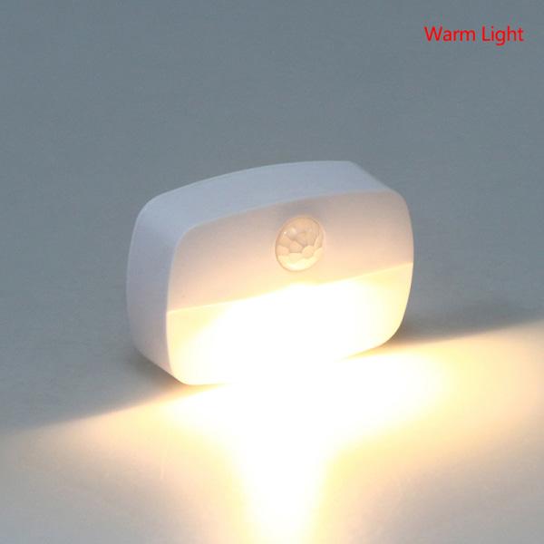 LED Night Light Trådlös rörelsesensor tänder trapplampor