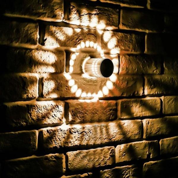 LED vägglampa trådlös aluminiumlampa kreativa vägglampor för White Light