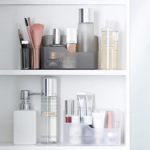 Makeup Badrum Förvaringslåda Kosmetisk arrangör Desktop Make Up J