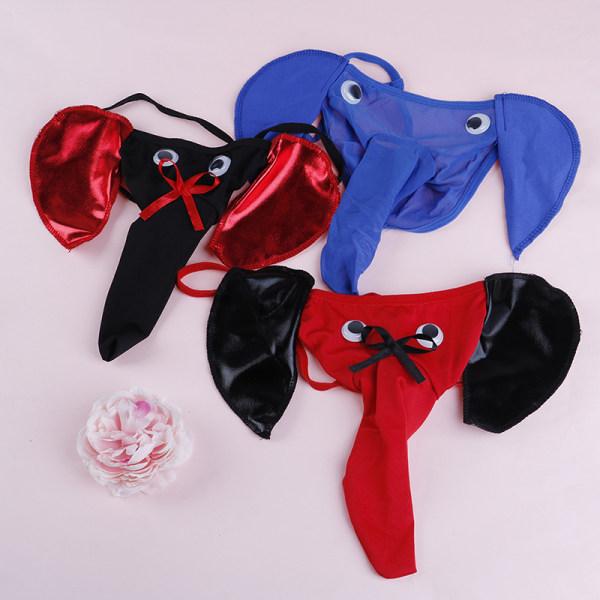 män elefant g-string underkläder stringbyxor t-back trosor B