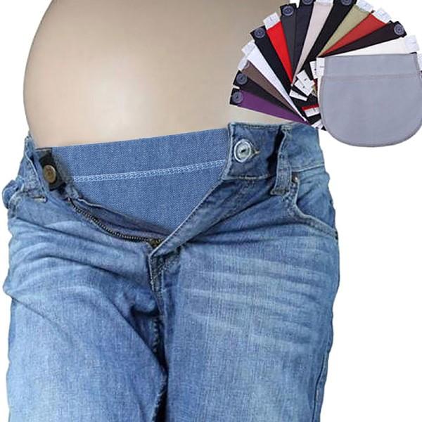 moderskap graviditet bälte justerbar elastisk midja förlängare tyg A6