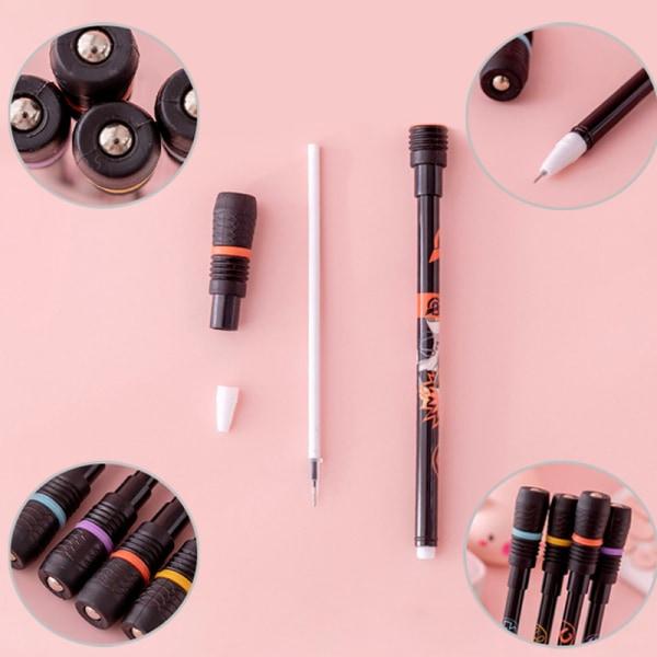 Halkfri roterande penna Spinning Pen rullande penna för barn som lär sig