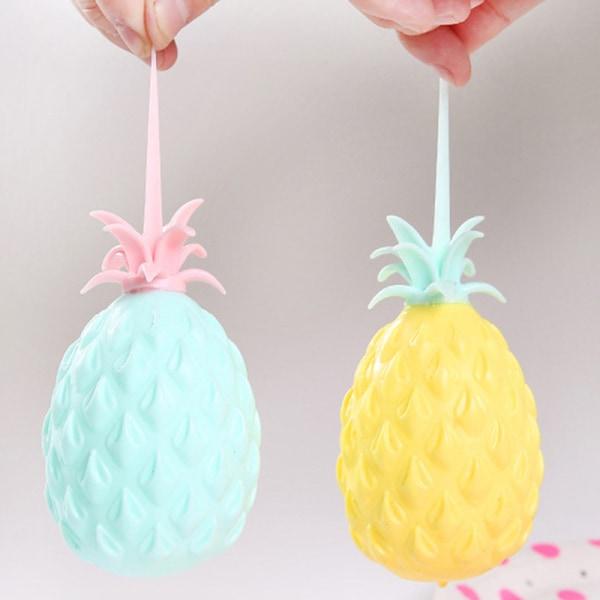Ananas Anti Stress Grape Ball Rolig Vent Dekompression Leksaker F
