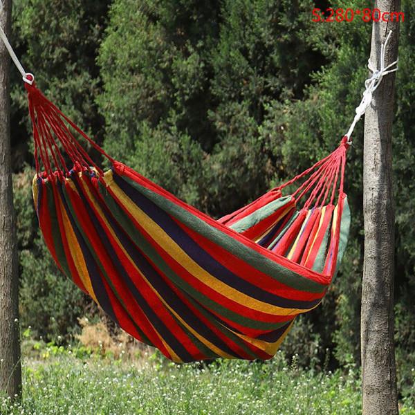 Bärbar resande utomhus picknick gungstol camping hängande