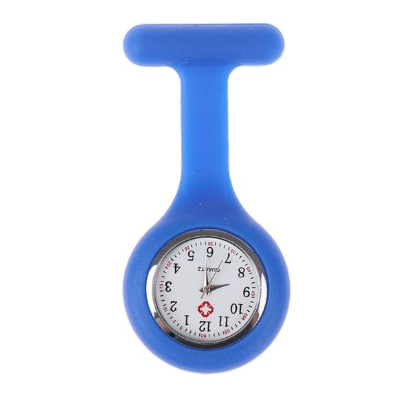 Silikon sjuksköterska klocka brosch tunika Fob klocka Doctor Pocket Watch