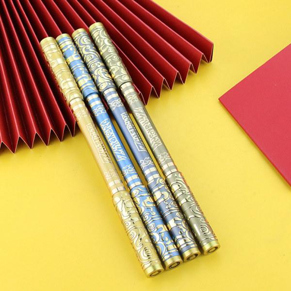Spinning Pen Kreativ slumpmässig blixt Roterande spelpennor Student