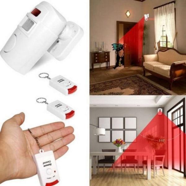 trådlös magnetisk sensor larm säkerhetsdetektor inomhus utomhus White