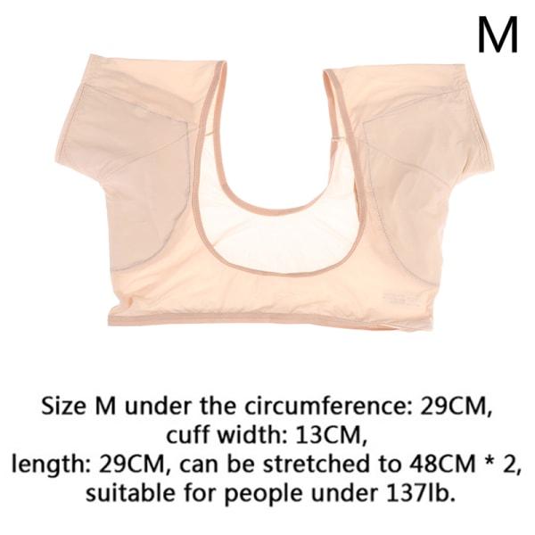 ultratunn t-shirt svett tvättbar armhåla svettkuddar under armhålan perfekt M