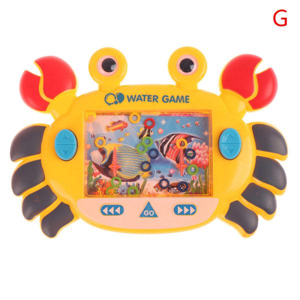 vatten ring cirkel spel vatten maskin barndom klassisk nostalgisk G