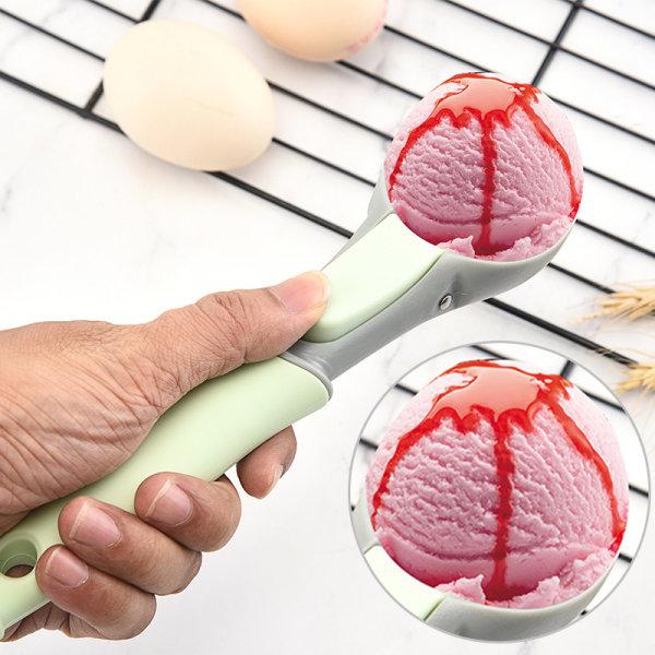 Vattenmelonverktyg Glasssked Fruktskedar Melon Baller Sphe