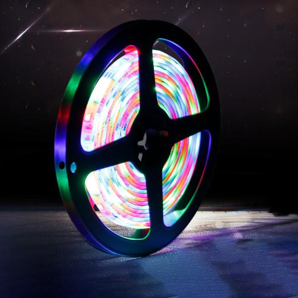 Vattentät LED Strip Lights Kontrollerad Light Strip Kit Rope Dec.
