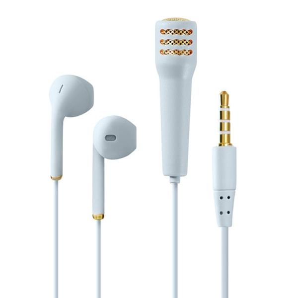 Trådbundet headset Karaoke hörlurar Handhållen mikrofon bärbar stereo Mi