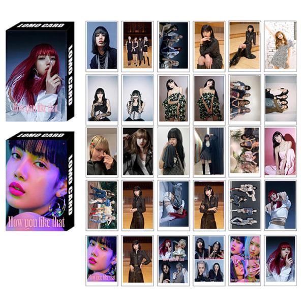 30st / Set Kpop Blackpink Fotokort Nytt album Hur du gillar Th